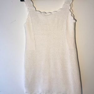 Knitted Anthropologie sleeveless sweater